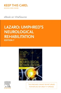 cover image - Umphred's Neurological Rehabilitation - Elsevier eBook on VitalSource (Retail Access Card),7th Edition