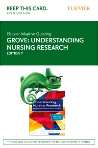 cover image - Elsevier Adaptive Quizzing for Understanding Nursing Research (Access Card),7th Edition