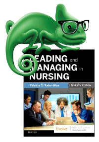 cover image - Elsevier Adaptive Quizzing for Leading and Managing in Nursing,7th Edition
