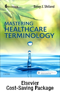 cover image - Mastering Healthcare Terminology - Text and Elsevier Adaptive Learning (Access Card) Package,6th Edition