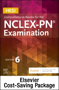 cover image - HESI Comprehensive Review for the NCLEX-PN Examination - Elsevier eBook on VitalSource + Evolve Access (Retail Access Cards),6th Edition