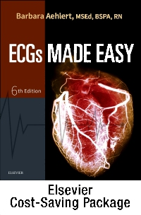 cover image - ECGs Made Easy - Book and Pocket Reference Package,6th Edition
