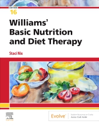 cover image - Williams' Basic Nutrition & Diet Therapy,16th Edition