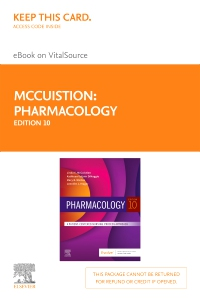 cover image - Pharmacology - Elsevier eBook on VitalSource (Retail Access Card),10th Edition