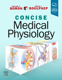 cover image - Boron & Boulpaep Concise Medical Physiology Elsevier eBook on Vitalsource (Retail Access Card)
