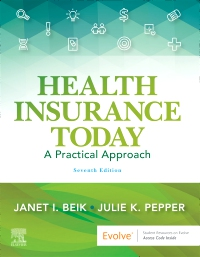 cover image - Evolve Resources for Health Insurance Today,7th Edition