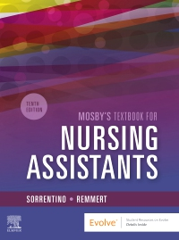 cover image - Mosby's Textbook for Nursing Assistants - Hard Cover Version,10th Edition