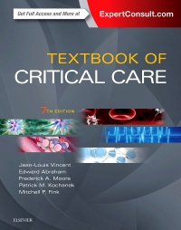 cover image - Textbook of Critical Care - Elsevier eBook on VitalSource,7th Edition