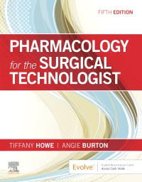 cover image - Pharmacology for the Surgical Technologist,5th Edition