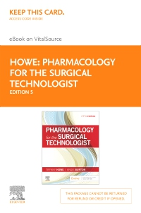cover image - Pharmacology for the Surgical Technologist - Elsevier eBook on VitalSource (Retail Access Card),5th Edition