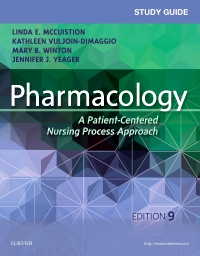 cover image - Study Guide for Pharmacology - Elsevier eBook on VitalSource,9th Edition