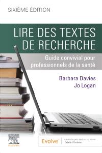 cover image - Lire des textes de recherche,6th Edition