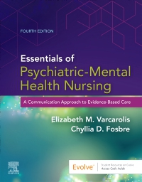 cover image - Evolve Resources for Essentials of Psychiatric Mental Health Nursing,4th Edition