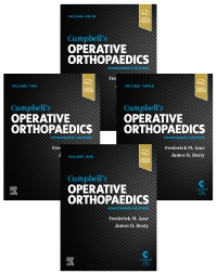 cover image - Campbell's Operative Orthopaedics, 4-Volume Set,14th Edition