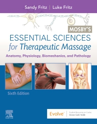 cover image - Mosby's Essential Sciences for Therapeutic Massage - Elsevier eBook on VitalSource,6th Edition