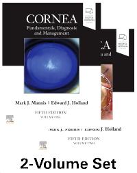 cover image - Cornea, 2-Volume Set,5th Edition