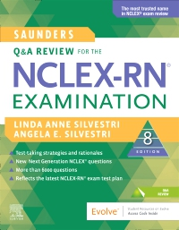 cover image - Saunders Q & A Review for the NCLEX-RN® Examination,8th Edition