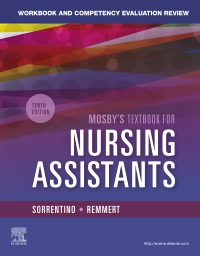 cover image - Workbook and Competency Evaluation Review for Mosby's Textbook for Nursing Assistants,10th Edition