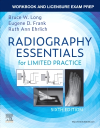 cover image - Workbook and Licensure Exam Prep for Radiography Essentials for Limited Practice,6th Edition