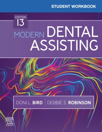 cover image - Student Workbook for Modern Dental Assisting,13th Edition