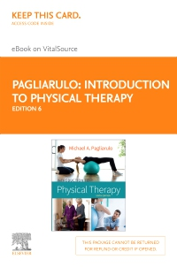 cover image - Introduction to Physical Therapy - Elsevier eBook on VitalSource (Retail Access Card),6th Edition