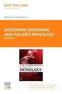 cover image - Goodman and Fuller's Pathology - Elsevier eBook on VitalSource (Retail Access Card),5th Edition