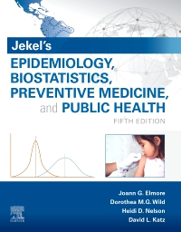 cover image - Jekel's Epidemiology, Biostatistics, Preventive Medicine, and Public Health Elsevier eBook on VitalSource,5th Edition
