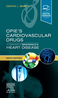cover image - Opie's Cardiovascular Drugs: A Companion to Braunwald's Heart Disease,9th Edition