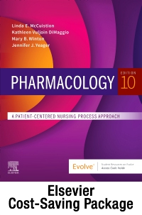 cover image - Pharmacology Online for Pharmacology (Retail Access Card and Textbook Package),10th Edition