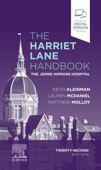 cover image - The Harriet Lane Handbook,22nd Edition