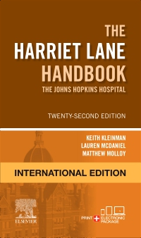 cover image - The Harriet Lane Handbook International Edition,22nd Edition