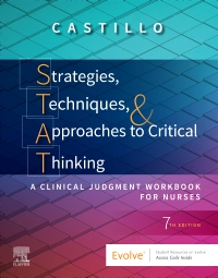 cover image - Strategies, Techniques, and Approaches to Critical Thinking Elsevier eBook on VitalSource,7th Edition
