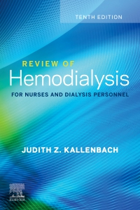 cover image - Review of Hemodialysis for Nurses and Dialysis Personnel- Elsevier eBook on VitalSource,10th Edition
