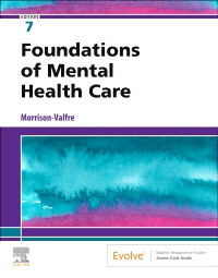 cover image - Foundations of Mental Health Care - Elsevier eBook on VitalSource (Retail Access Card),7th Edition