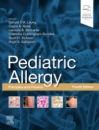 cover image - Pediatric Allergy: Principles and Practice,4th Edition
