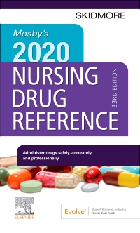 cover image - Mosby's 2020 Nursing Drug Reference - Elsevier eBook on VitalSource,33rd Edition