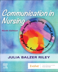 cover image - Evolve Resources for Communication in Nursing,9th Edition