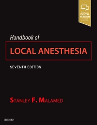 cover image - Evolve resources for Handbook of Local Anesthesia,7th Edition