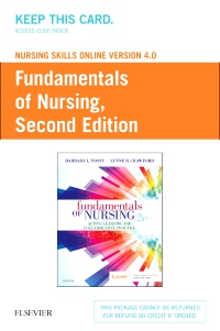 cover image - Nursing Skills Online Version 4.0 for Fundamentals of Nursing,2nd Edition