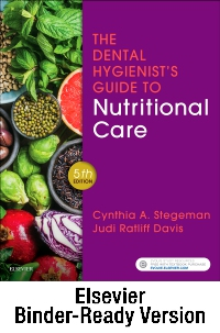 cover image - The Dental Hygienist's Guide to Nutritional Care - Binder Ready,5th Edition