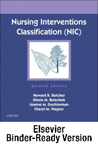 cover image - Nursing Interventions Classification (NIC) - Binder Ready,7th Edition
