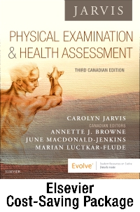 cover image - Physical Examination and Health Assessment - Text, Pocket Companion, and Student Lab Manual Package,3rd Edition