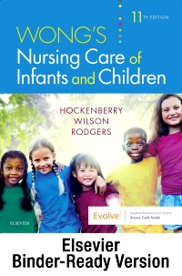 cover image - Wong's Nursing Care of Infants and Children - Binder Ready,11th Edition