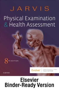 cover image - Physical Examination and Health Assessment - Binder Ready,8th Edition