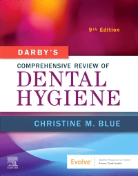 cover image - Darby's Comprehensive Review of Dental Hygiene,9th Edition