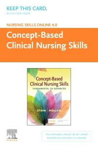 cover image - Nursing Skills Online Version 4.0 Concept-Based Clinical Nursing Skills (Access Code)