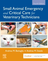 cover image - Small Animal Emergency and Critical Care for Veterinary Technicians - Elsevier eBook on VitalSource,4th Edition