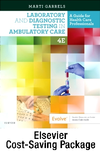 cover image - Laboratory and Diagnostic Testing in Ambulatory Care - Text and Workbook Package,4th Edition