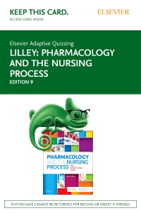 cover image - Elsevier Adaptive Quizzing for Pharmacology and the Nursing Process (Access Card),9th Edition