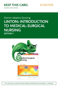 cover image - Elsevier Adaptive Quizzing for Introduction to Medical-Surgical Nursing (Access Card),7th Edition